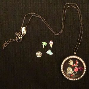 Four Origami Owl Charms